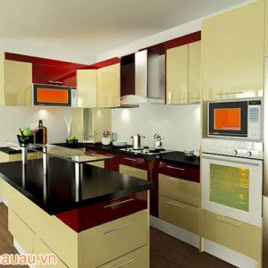 Tủ Bếp Acrylic CA-A14