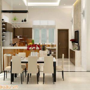 Tủ Bếp Acrylic CA A14